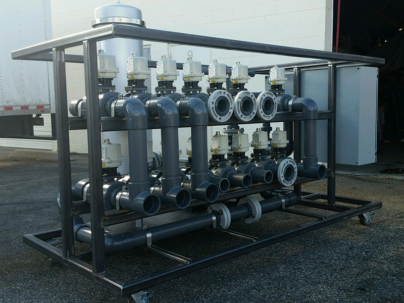 Build to Suit Pump Skid